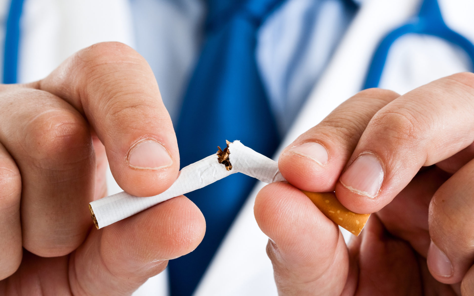 Smoking can damage your vision
